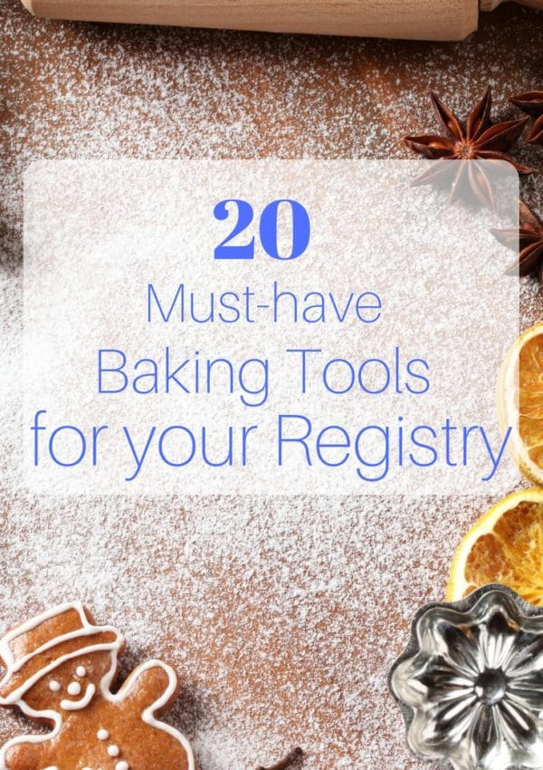 These baking tools are perfect for adding to your wedding registry list, and they make an excellent gift for the bride and groom!